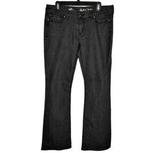 Express Stella Regular Fit Low Rise Bootcut Jeans